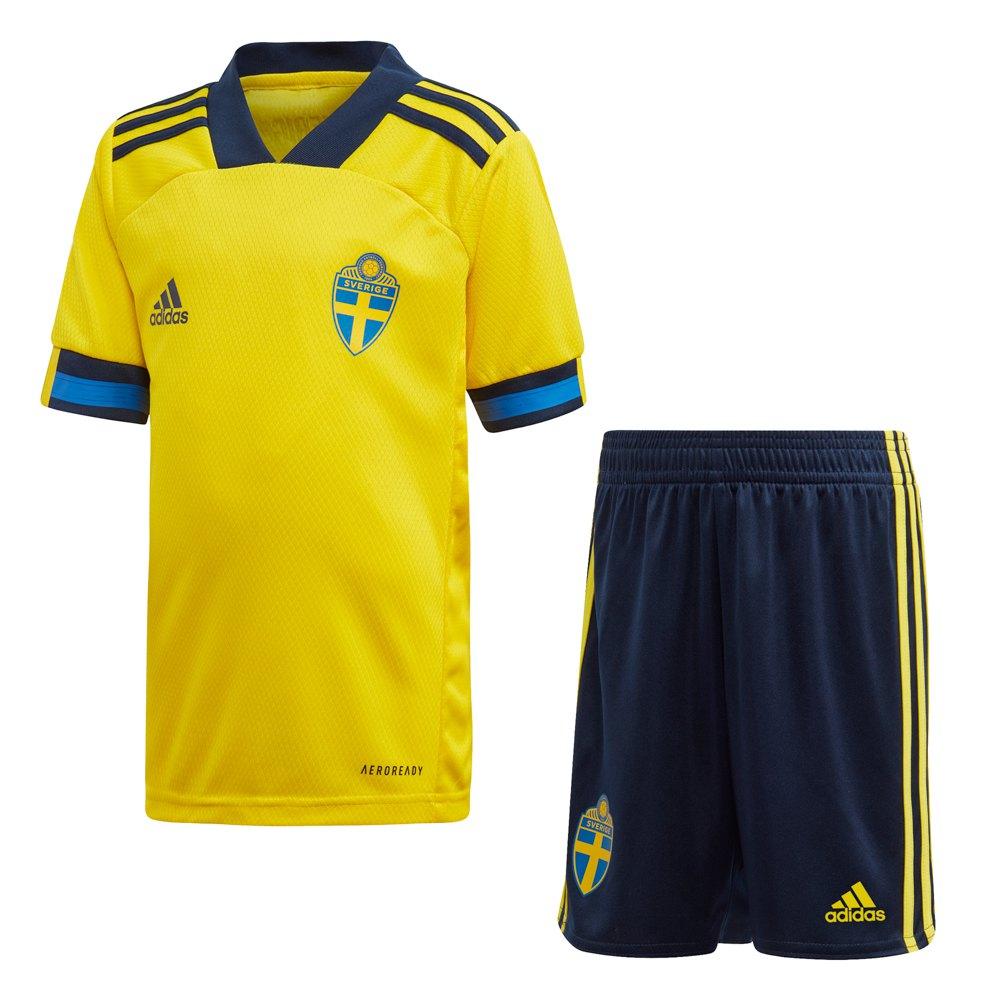 Adidas Sweden Home Mini Kit 2020 98 cm Yellow / Night Indigo