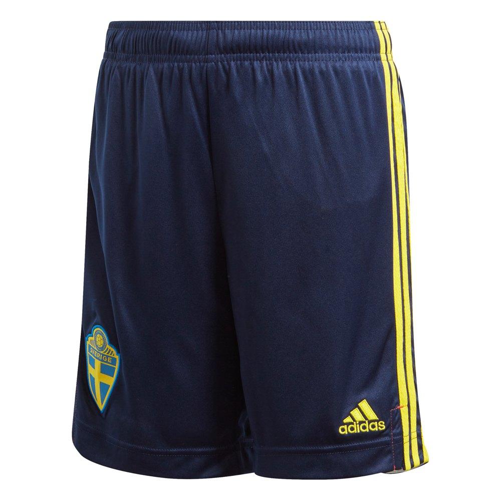 Adidas Le Short Suède Domicile 2020 Junior 164 cm Night Indigo / Yellow