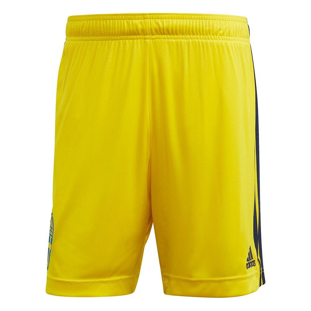 Adidas Le Short Suède Extérieur 2020 S Yellow / Night Indigo