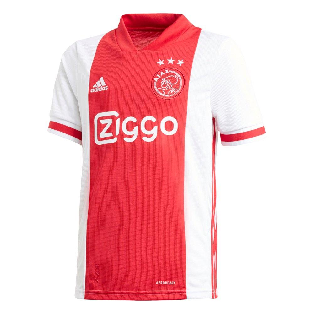 Adidas T-shirt Ajax Domicile 20/21 Junior 128 cm White / Bold Red