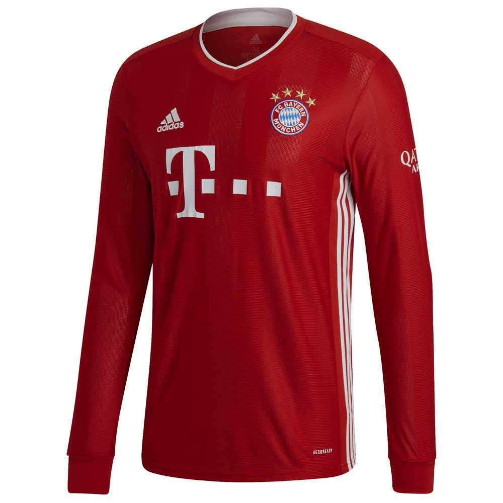 Adidas Fc Bayern Munich Home 20/21 L FCB True Red