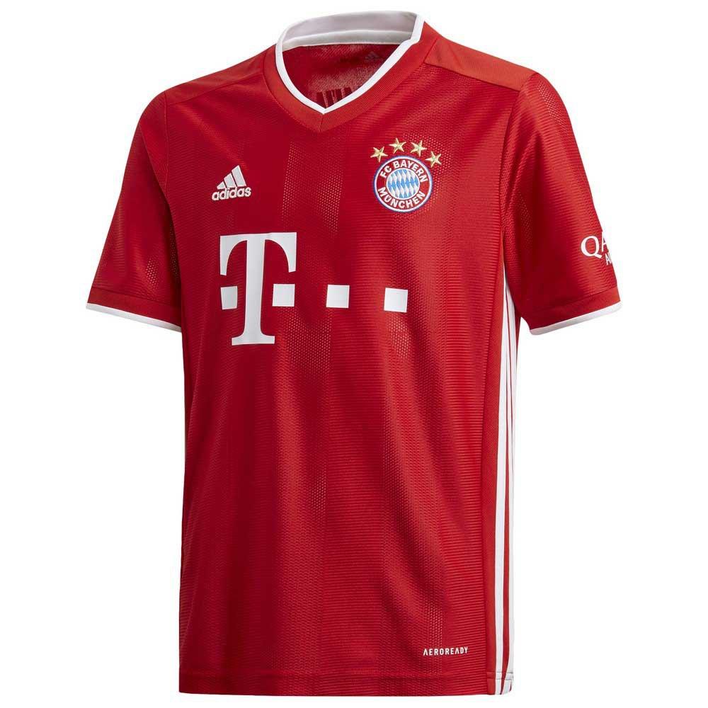 Adidas Fc Bayern Munich Home 20/21 Junior 128 cm FCB True Red