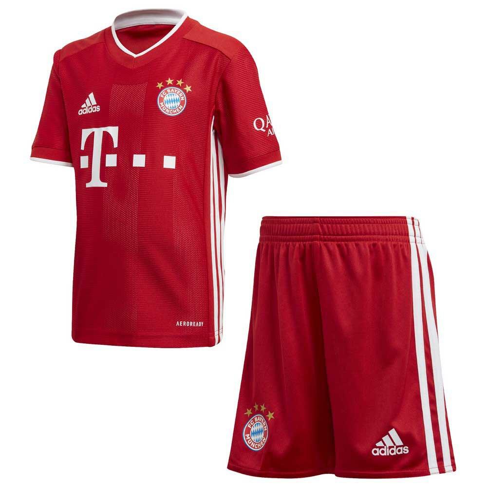 Adidas Fc Bayern Munich Home Mini Kit 20/21 116 cm FCB True Red
