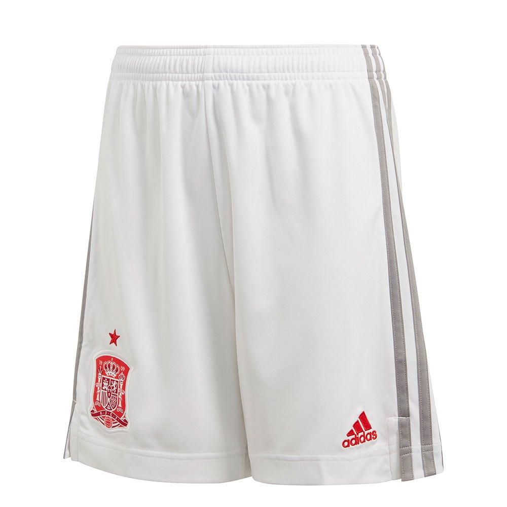Adidas Le Short Espagne Extérieur 2020 Junior 140 cm White
