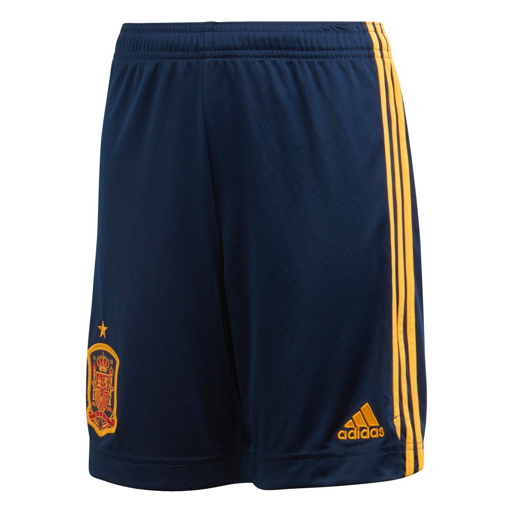 Adidas Le Short Espagne Domicile 2020 Junior 128 cm Collegiate Navy