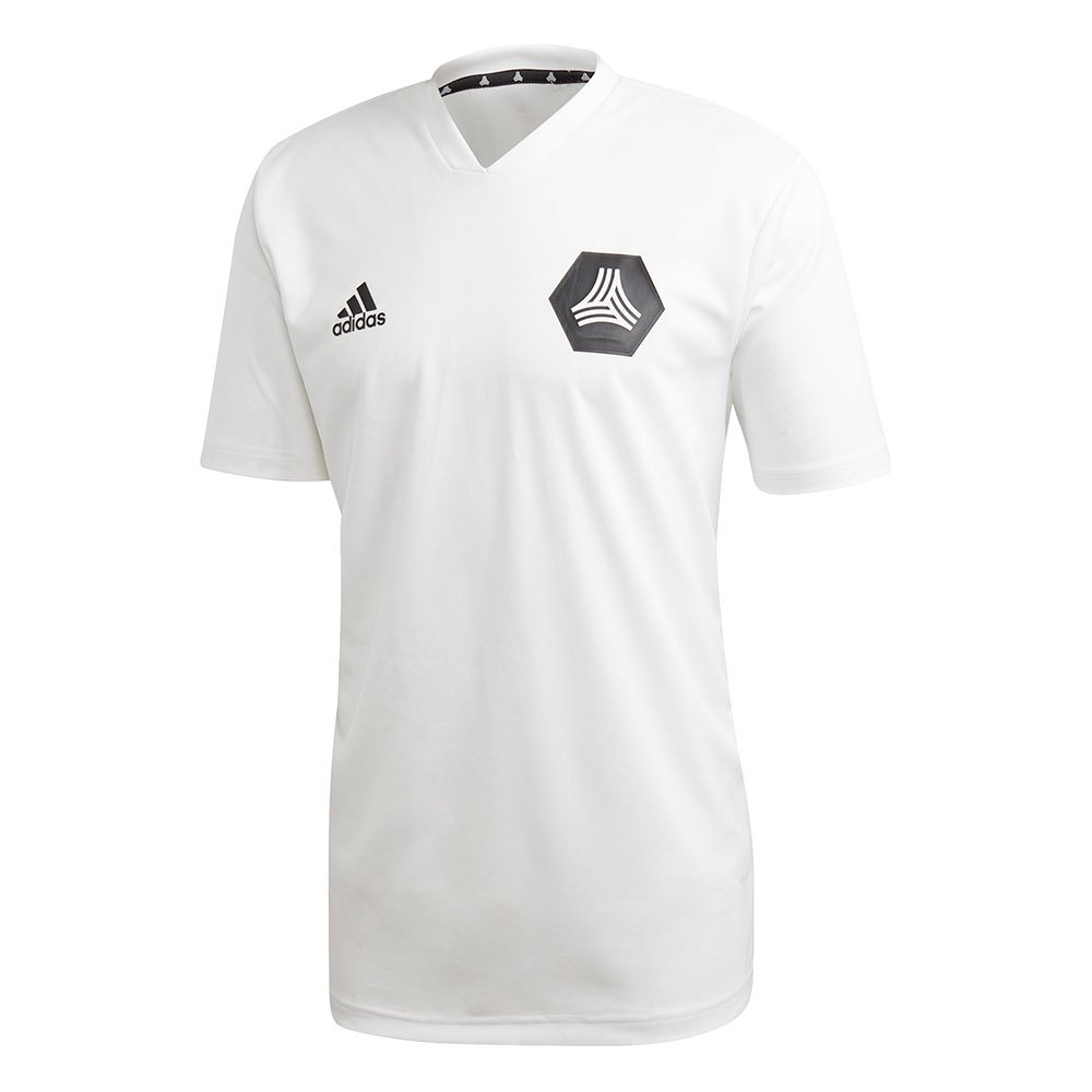 Adidas T-shirt Manche Courte Tango Training XS White