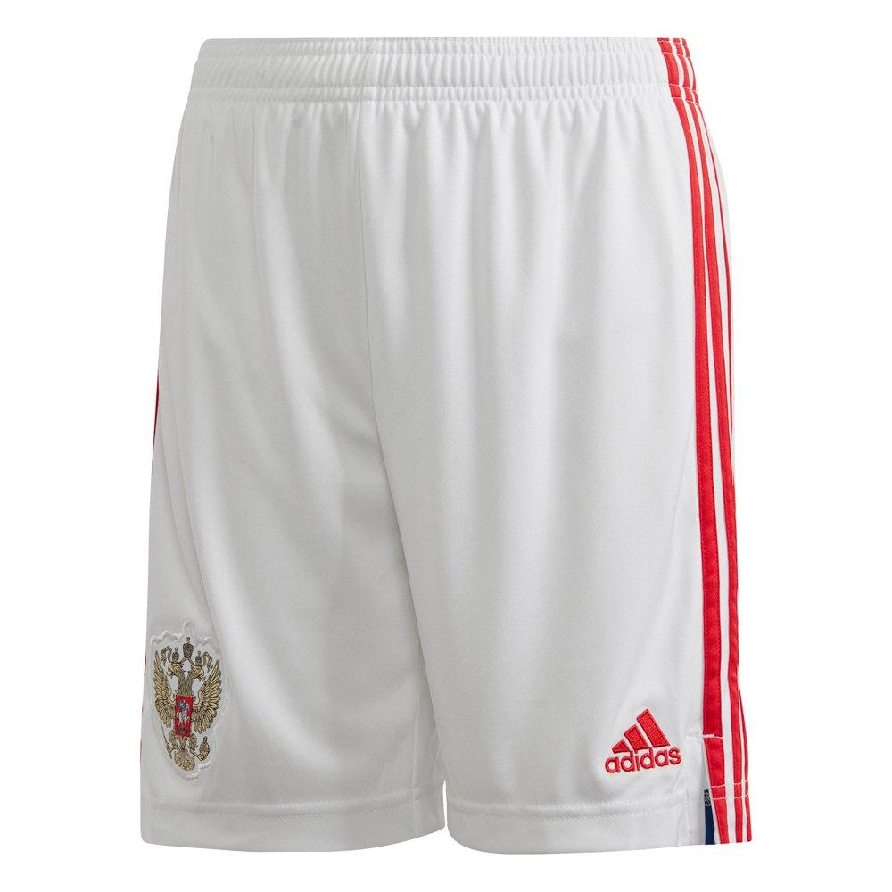 Adidas Le Short Russie Domicile 2020 Junior 152 cm White