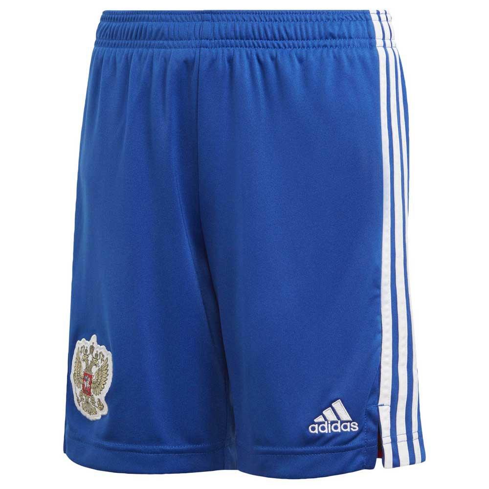 Adidas Le Short Russie Extérieur 2020 Junior 176 cm Royal Blue