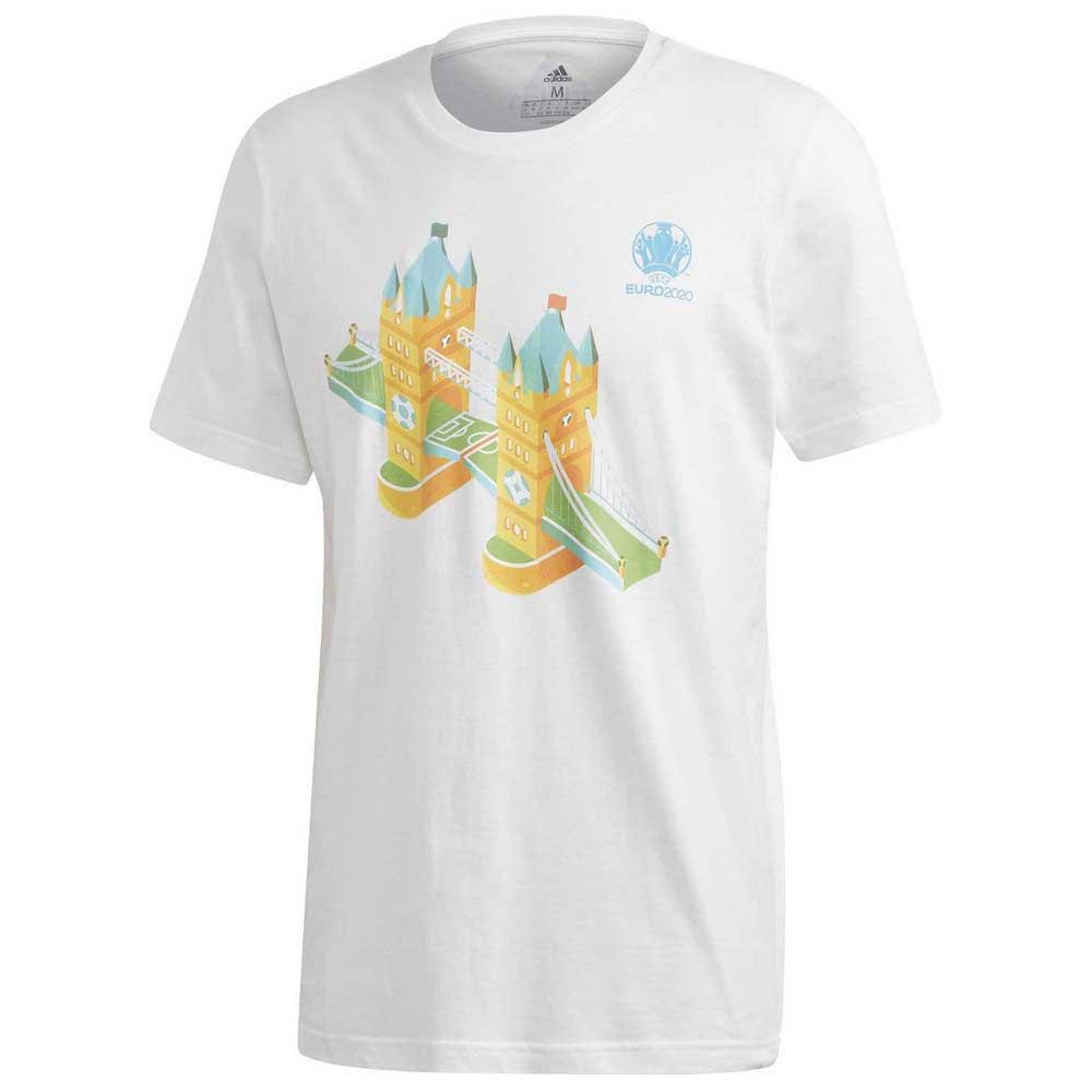 Adidas T-shirt Manche Courte Uefa Euro 2020 Road To Wembley XXL White