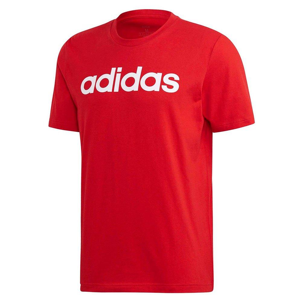 Adidas Essentials Linear L Scarlet / White