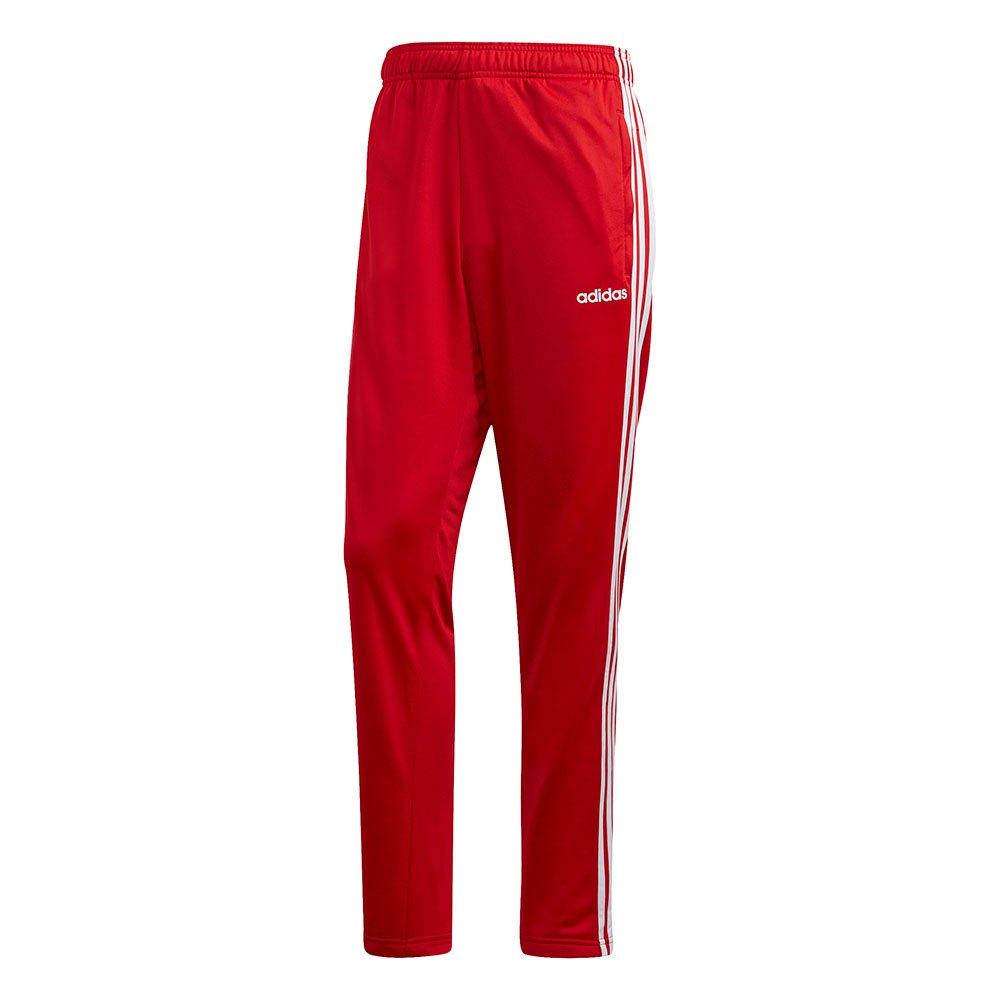Adidas Essentials 3 Stripes Tricot XL Scarlet / White