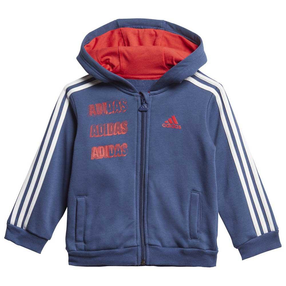 Adidas-Logo-Jogger-Azul-T29350-Chandals-Azul-Chandals-adidas-fitness miniatura 8