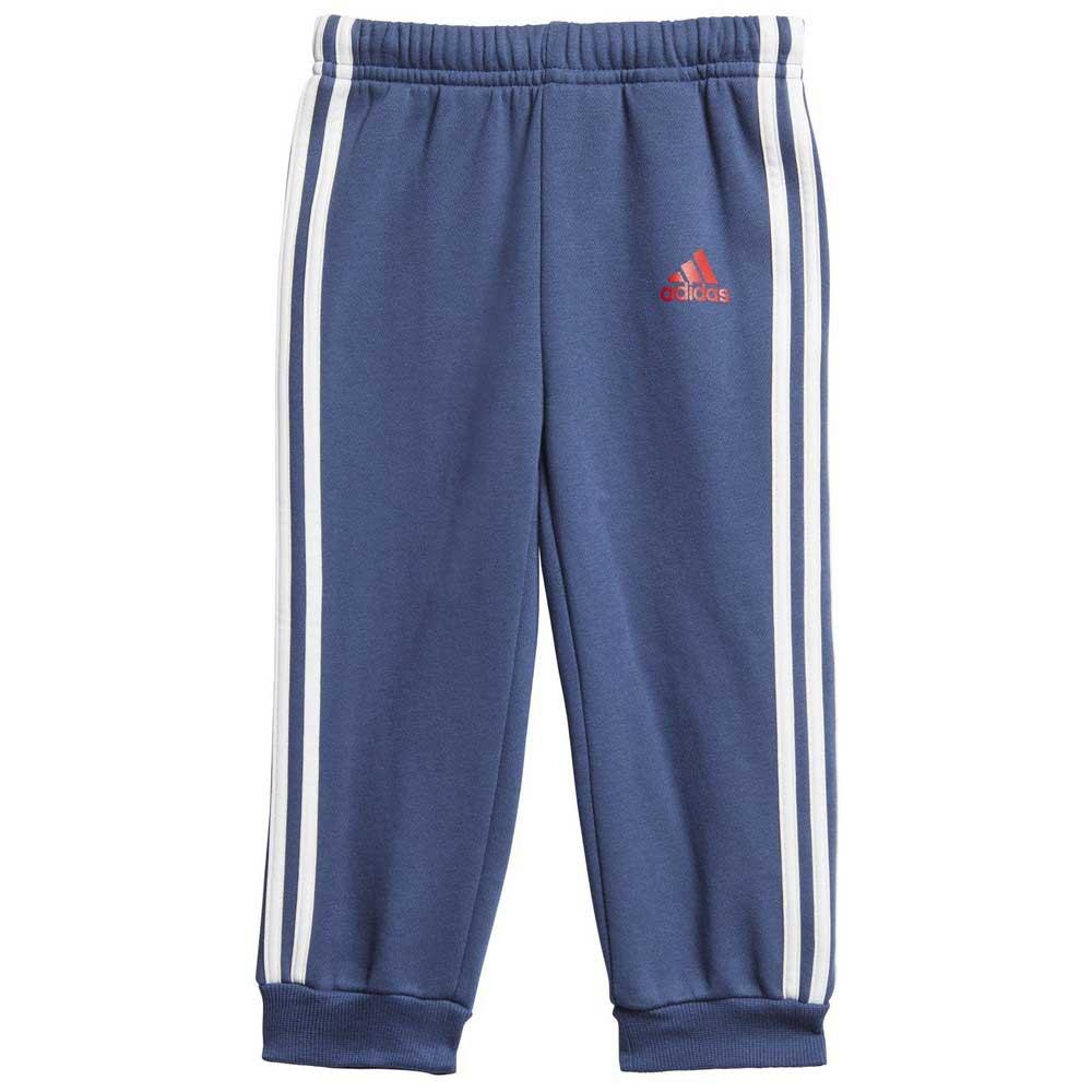 Adidas-Logo-Jogger-Azul-T29350-Chandals-Azul-Chandals-adidas-fitness miniatura 10