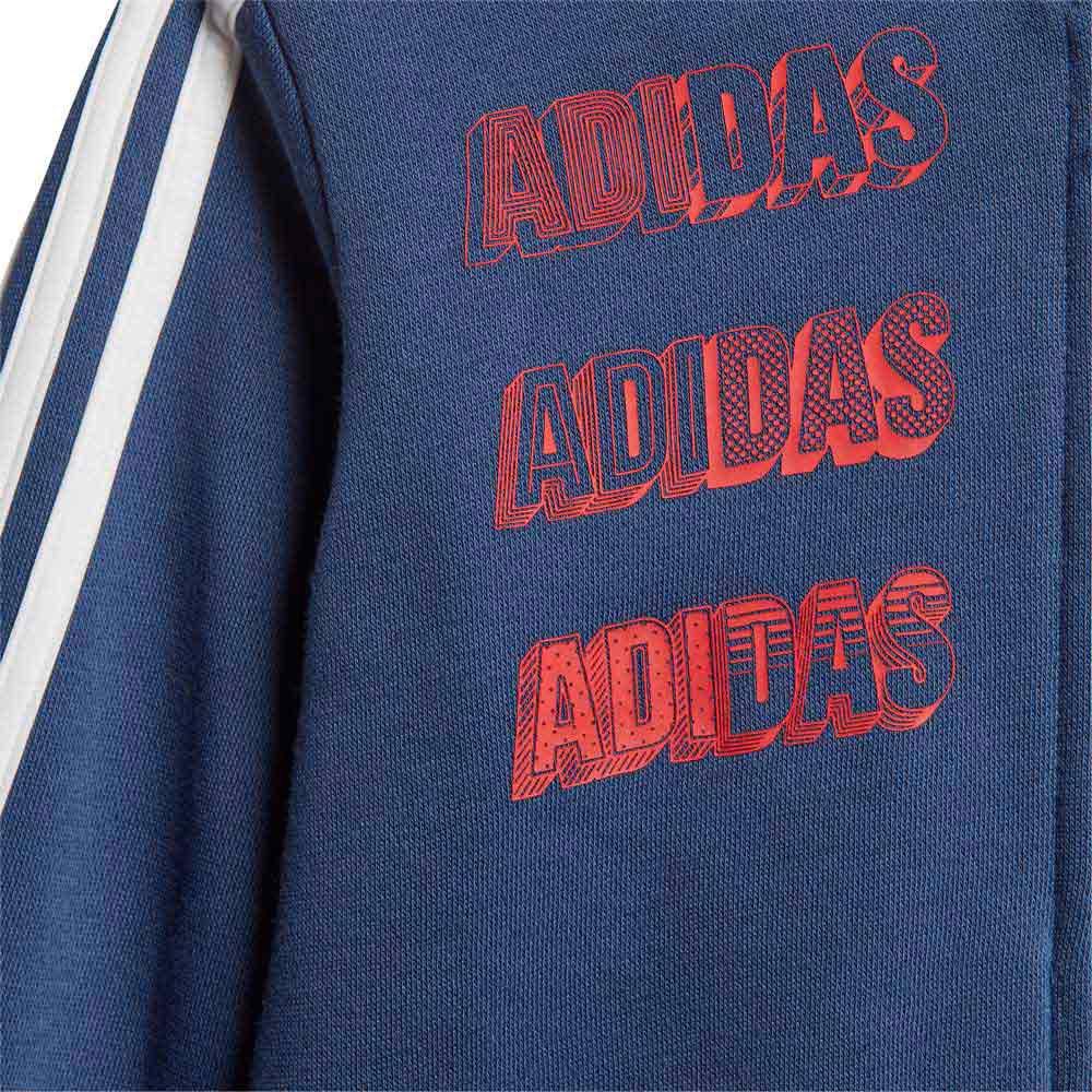 Adidas-Logo-Jogger-Azul-T29350-Chandals-Azul-Chandals-adidas-fitness miniatura 12