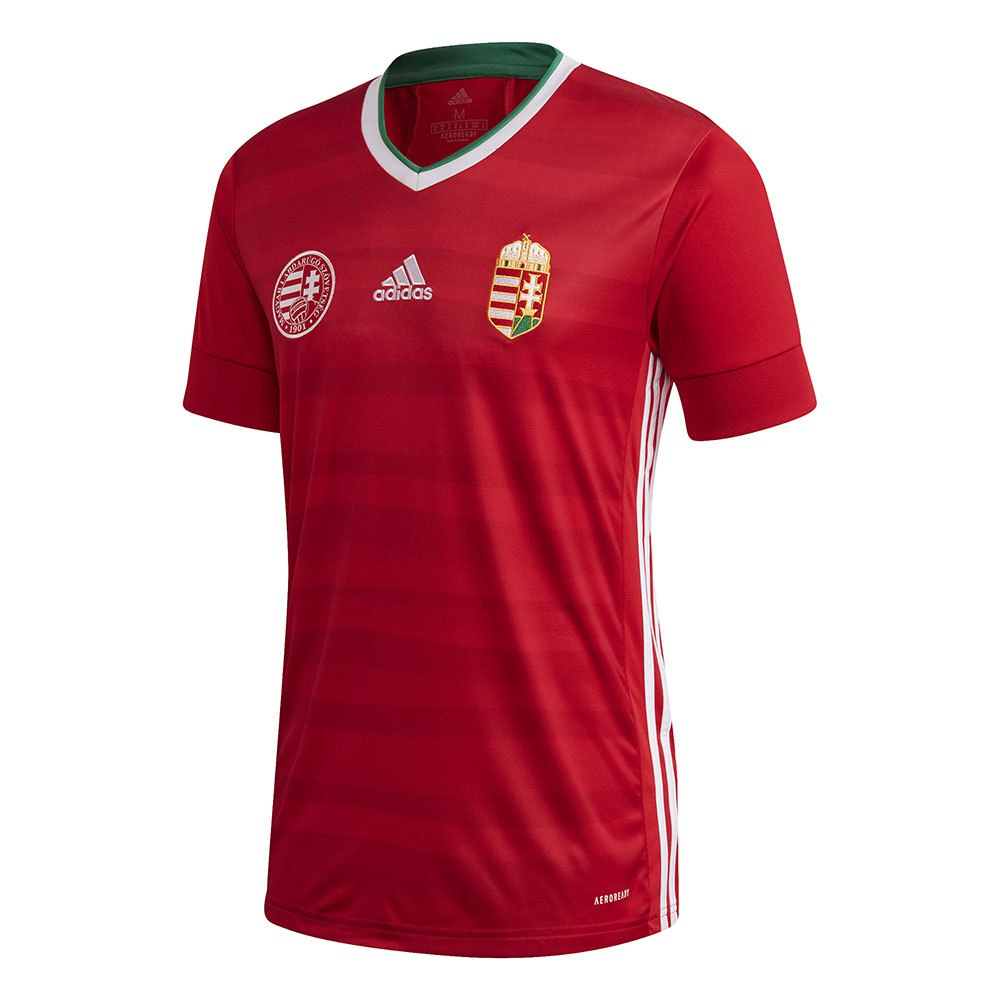 Adidas T-shirt Hongrie Domicile 2020 XXL Red / Bold Green / White