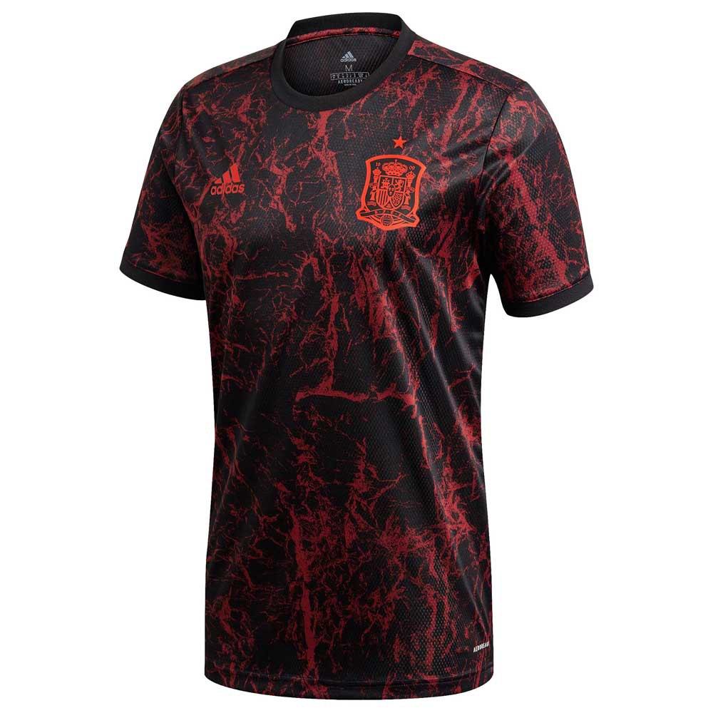 Adidas Spain Pre Match 2020 L Black / Collegiate Burgundy