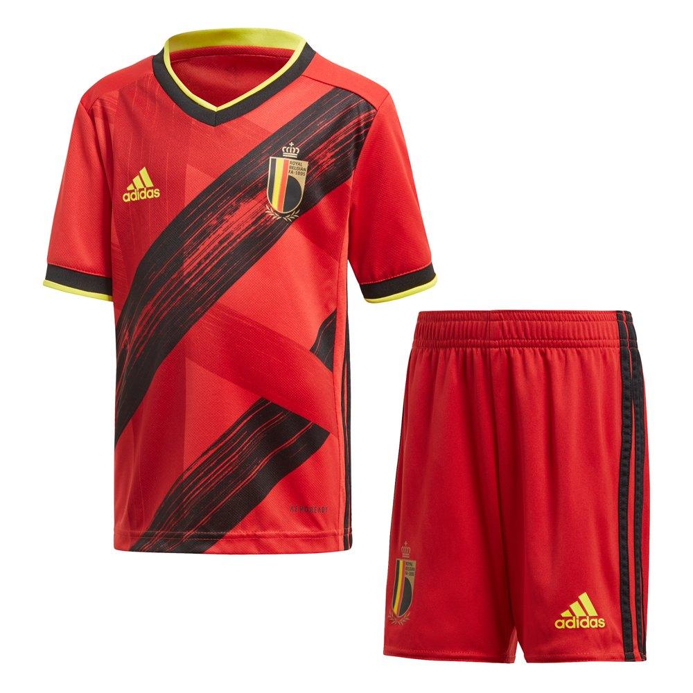 Adidas Belgium Home Mini Kit 2020 92 cm Collegiate Red / Black / Bright Yellow