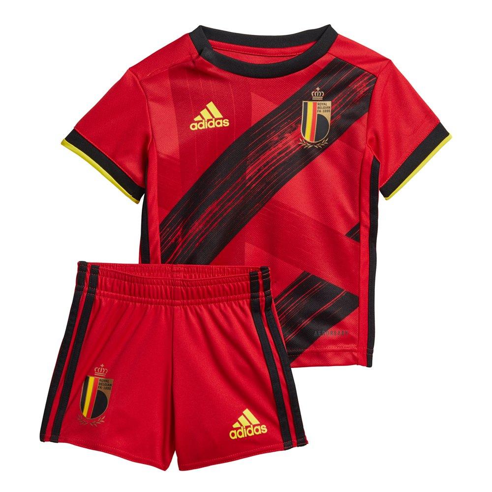 Adidas Belgium Home Mini Kit 2020 74 cm Collegiate Red / Black / Bright Yellow