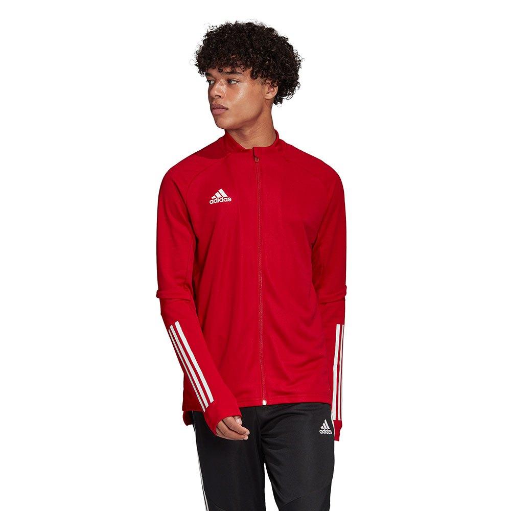 Détails sur Adidas Condivo 20 Training Rouge T89074 Sweatshirts Homme Rouge , Sweatshirts
