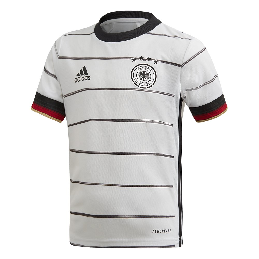 Adidas Germanu Home Mini Kit 2020 110 cm White / Black