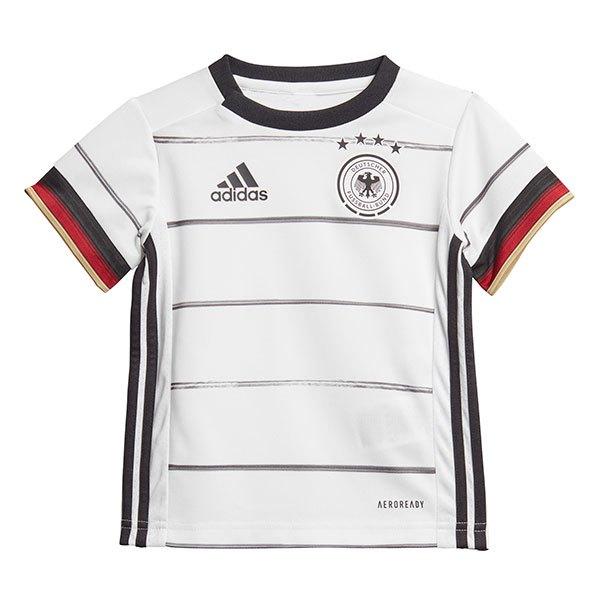 Adidas Germany Home Mini Kit 2020 74 cm White / Black