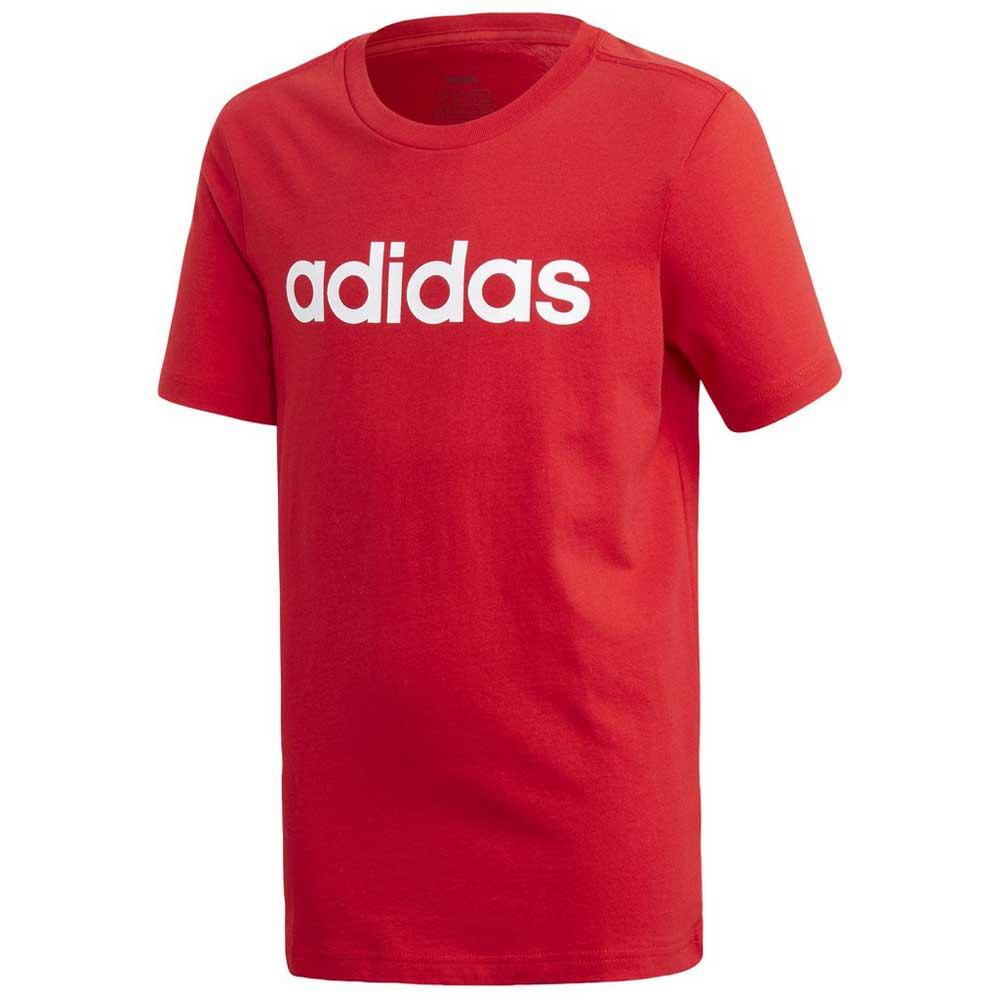 Adidas Essentials Linear 110 cm Scarlet / White