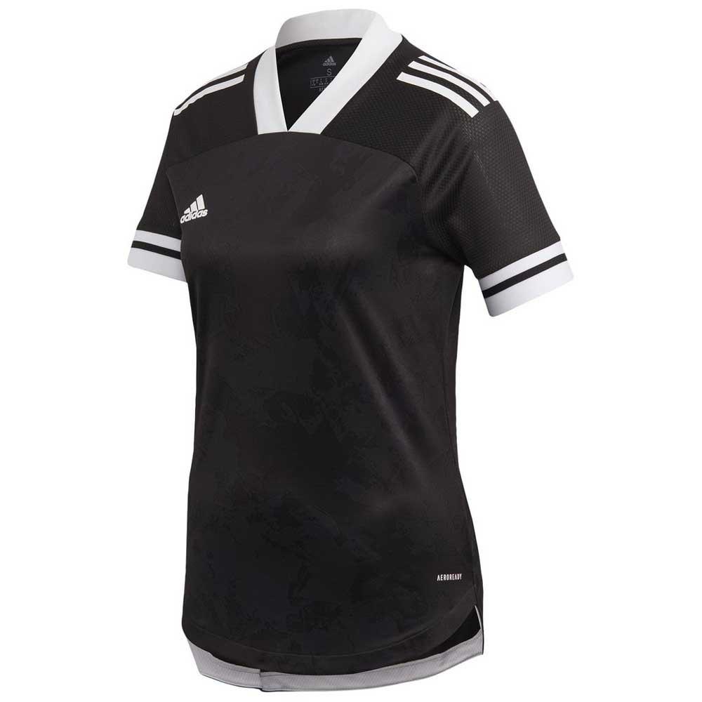 Adidas Condivo 20 Short Sleeve T-shirt XS Black / White