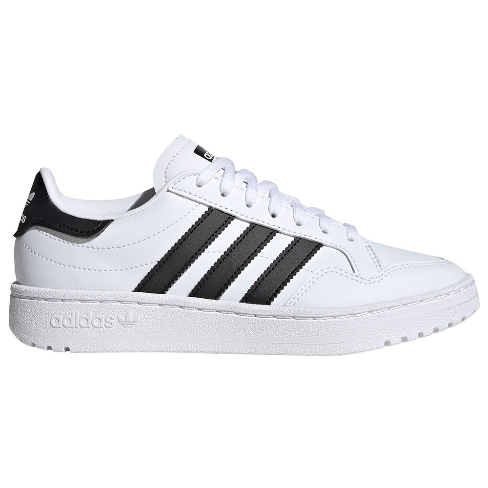 Adidas Originals Team Court Junior EU 36 Footwear White / Core Black / Footwear White