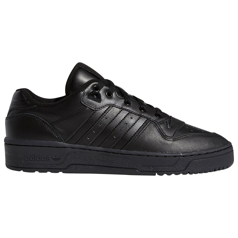 Adidas Originals Rivalry Low EU 41 1/3 Core Black / Core Black / Core Black / Footwear White