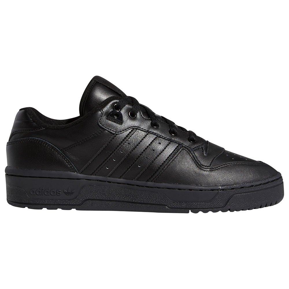 Adidas Originals Rivalry Low EU 41 1/3 Core Black / Core Black / Core Black / Footwear White