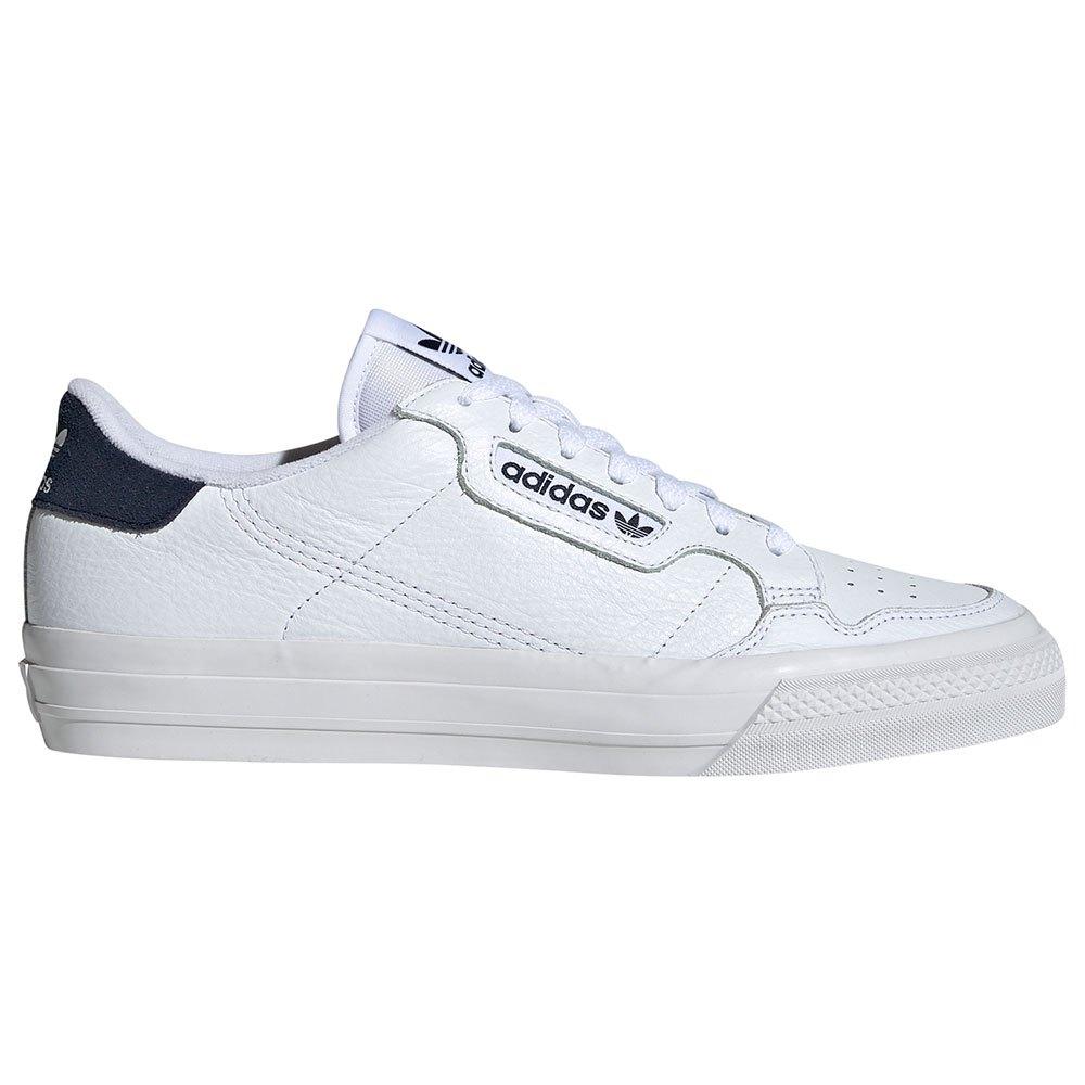 Adidas Originals Continental Vulc EU 45 1/3 Footwear White / Footwear White / Collegiate Navy