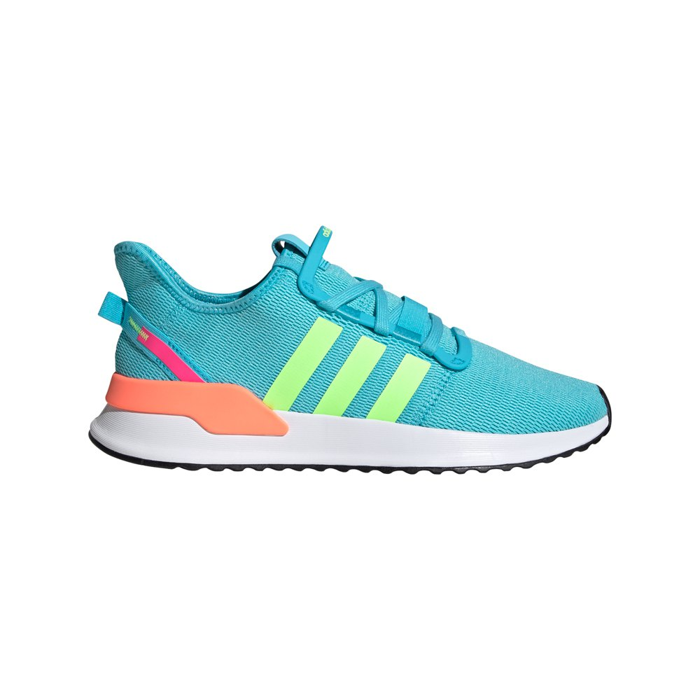 Adidas Originals U Path Run EU 38 2/3 Blue Glow / Signal Green / Signal Coral
