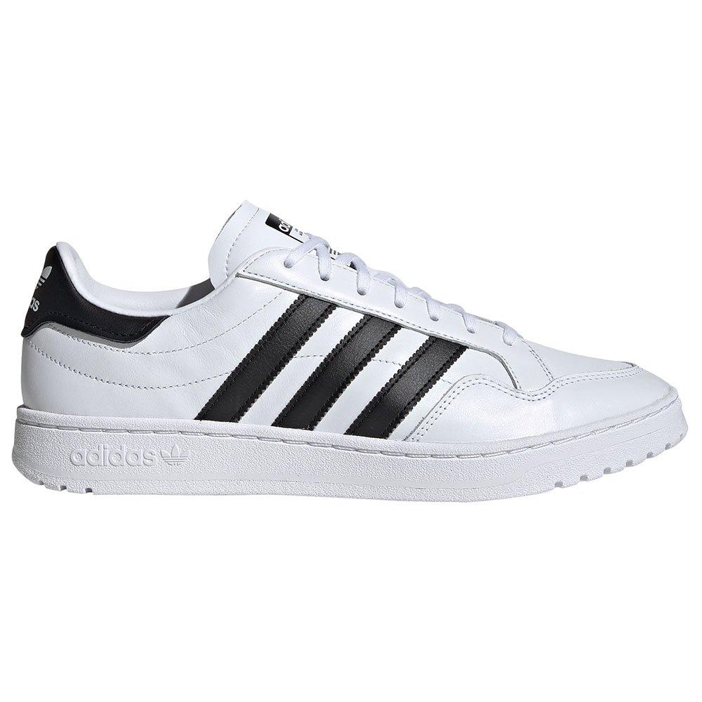 Adidas Originals Team Court EU 39 1/3 Footwear White / Core Black / Footwear White