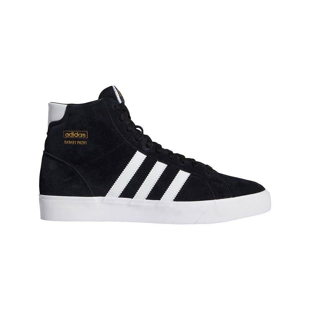 Adidas Originals Basket Profi EU 38 Core Black / Footwear White / Gold Metal