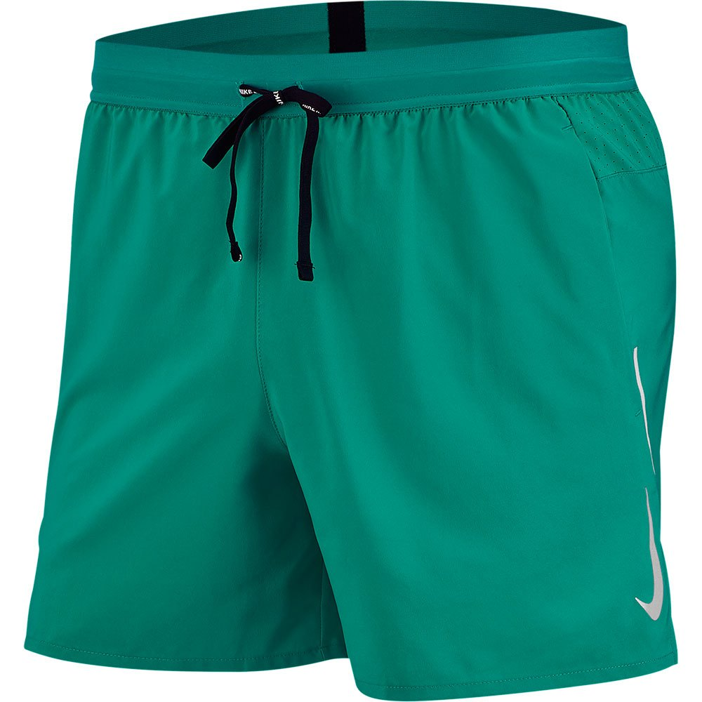 Nike Short Flex Stride 5´´ XL Neptune Green / Reflective Silver