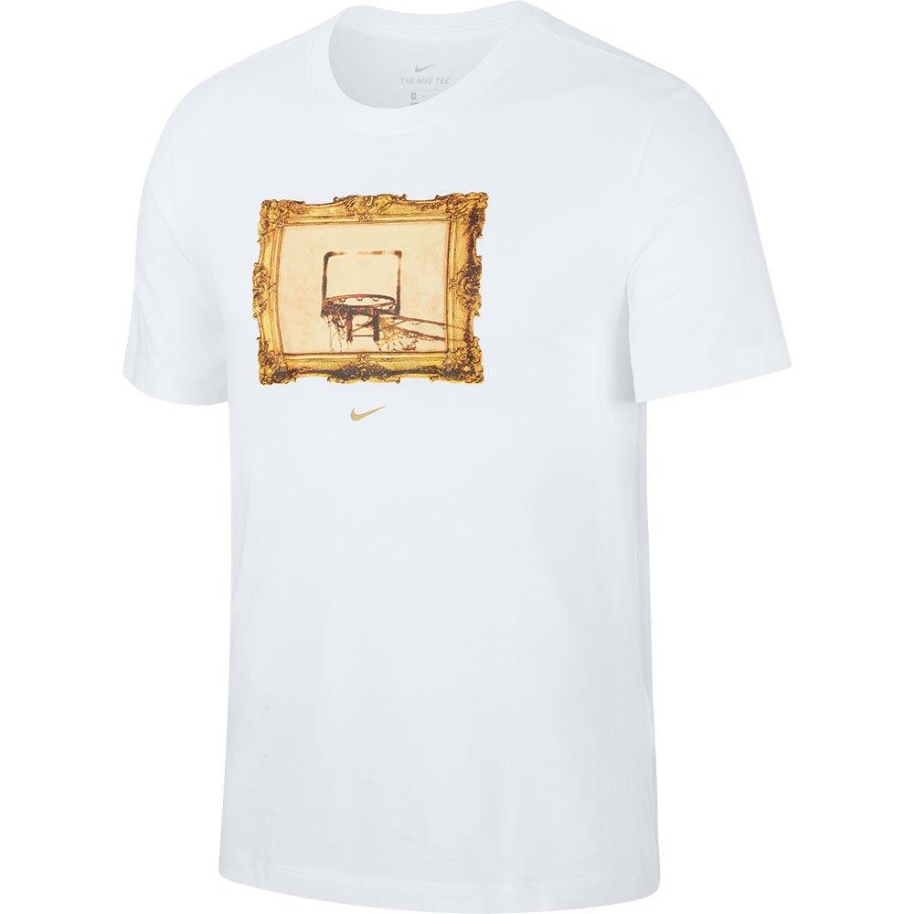 Nike Dri Fit Core Basketball S White