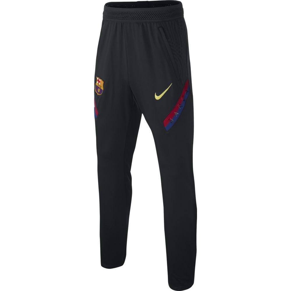 Nike Pantalons Fc Barcelona Dri Fit Strike 19/20 Junior L Dark Obsidian / Sonic Yellow