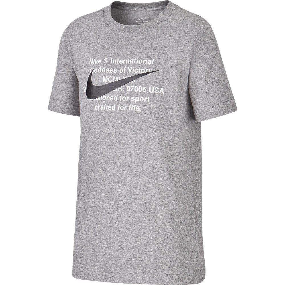 Nike Sportswear Swoosh For Life S Carbon Heather / Black