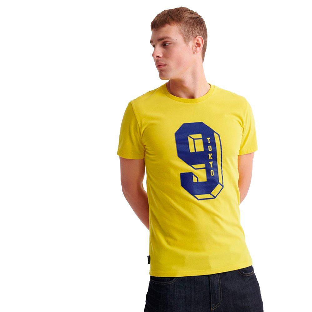 Superdry College Classic S Nautical Yellow