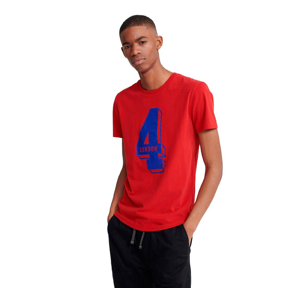 Superdry College Classic XS Rouge Red