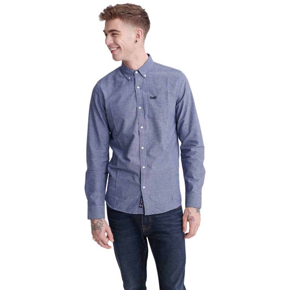 Superdry Classic University Oxford M French Blue