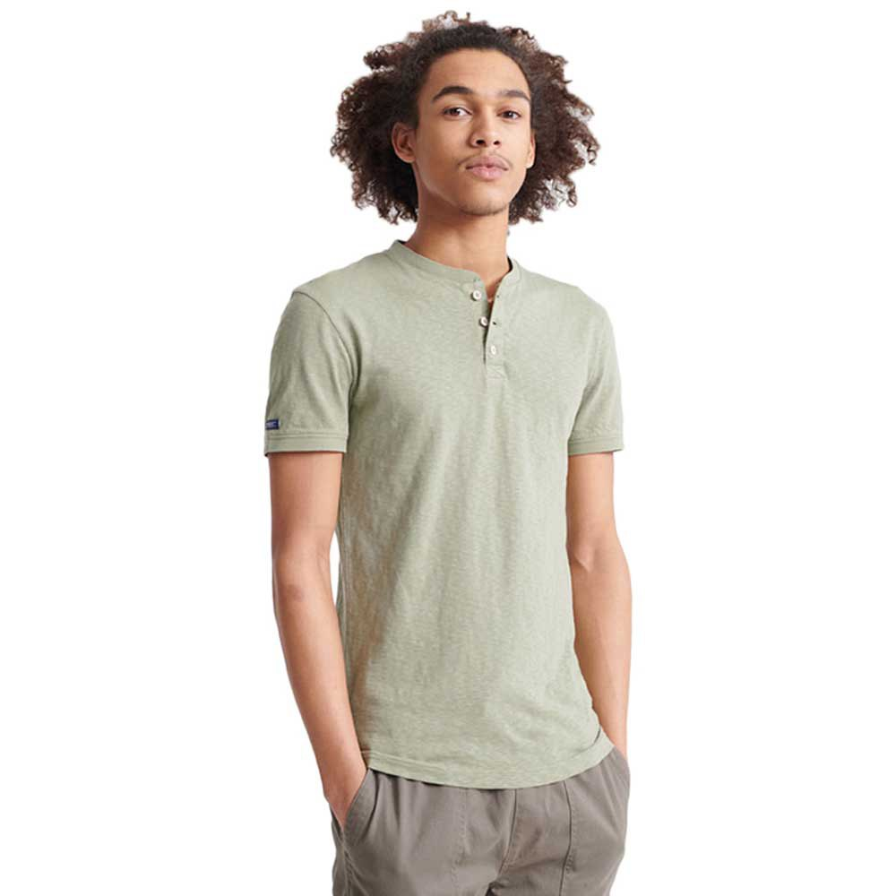 Superdry Heritage S Oil Green