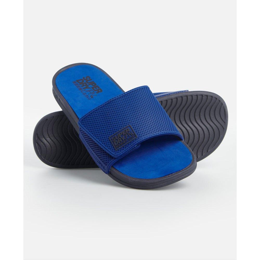 Superdry Tongs Premium Crewe Velcro EU 40-41 True Blue