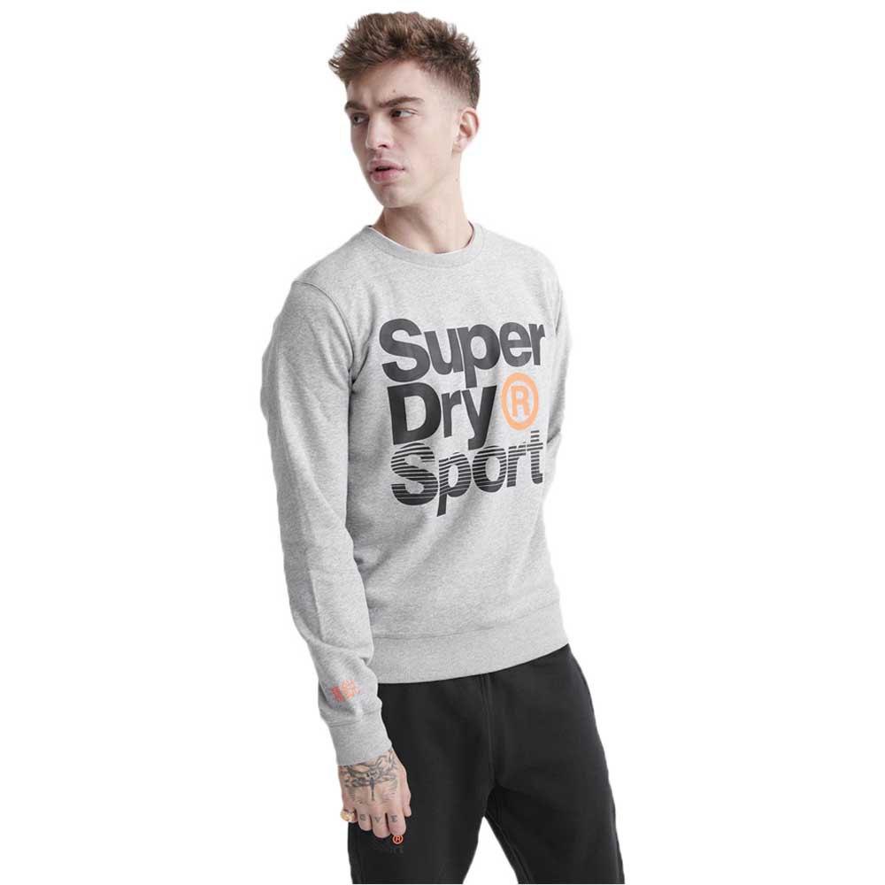 Superdry Sweatshirt Core Sport XL Grey Marl