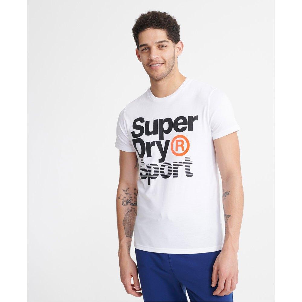 Superdry T-shirt Manche Courte Core Sport Graphic M Optic