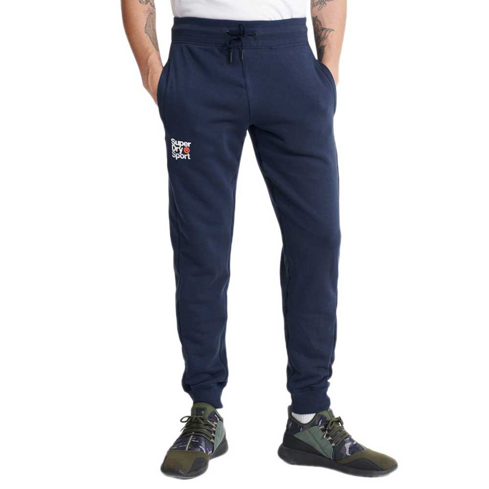 Superdry Pantalon Longue Core Sport Jogger XS Dress Blue