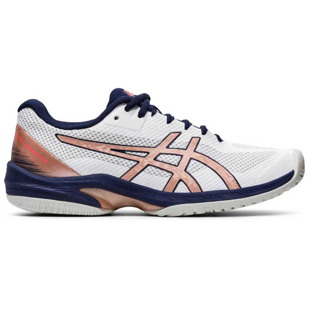 Asics Chaussures Court Speed Ff EU 42 White / Rose Gold