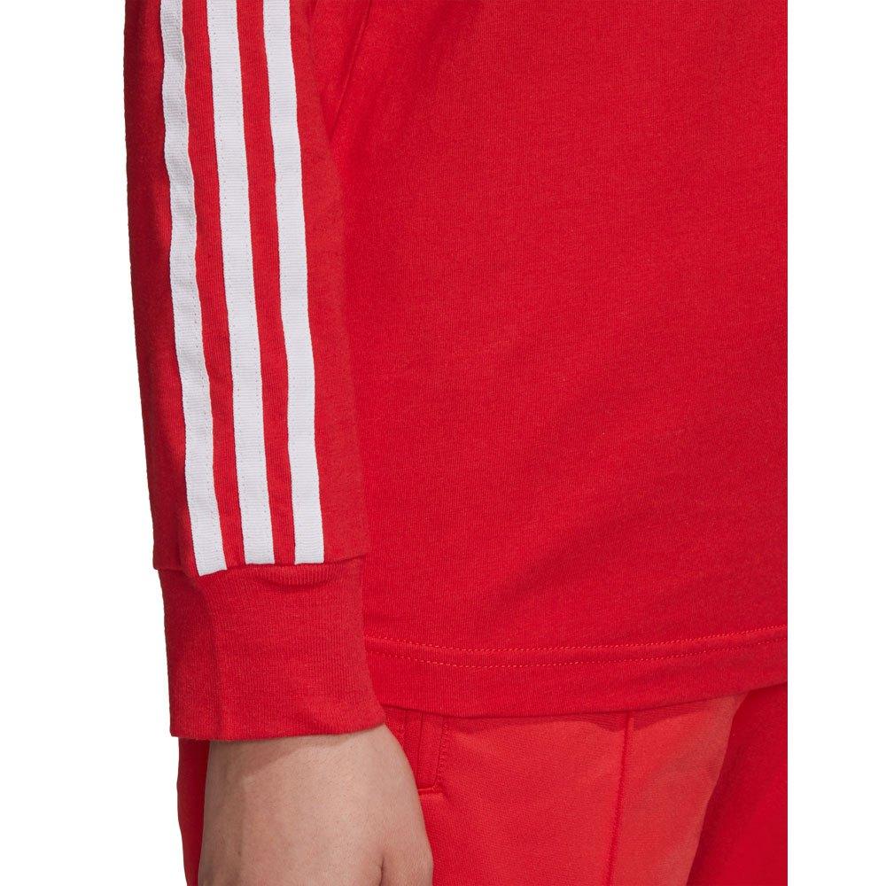Adidas-Originals-3-Stripes-Rouge-T70867-T-Shirts-Femme-Rouge-T-Shirts-mode miniature 11