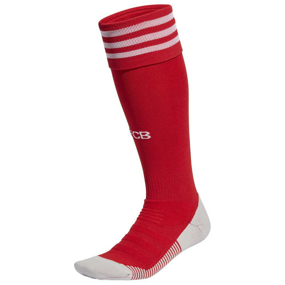 Adidas Chaussettes Fc Bayern Munich Domicile 20/21 S FCB True Red