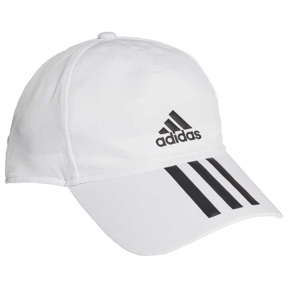 Adidas Baseball 3 Stripes 4 Athletes Aeroready 58 cm White / Black / Black